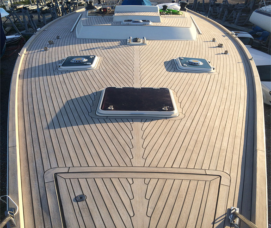 uv resistance synthiec boat decking