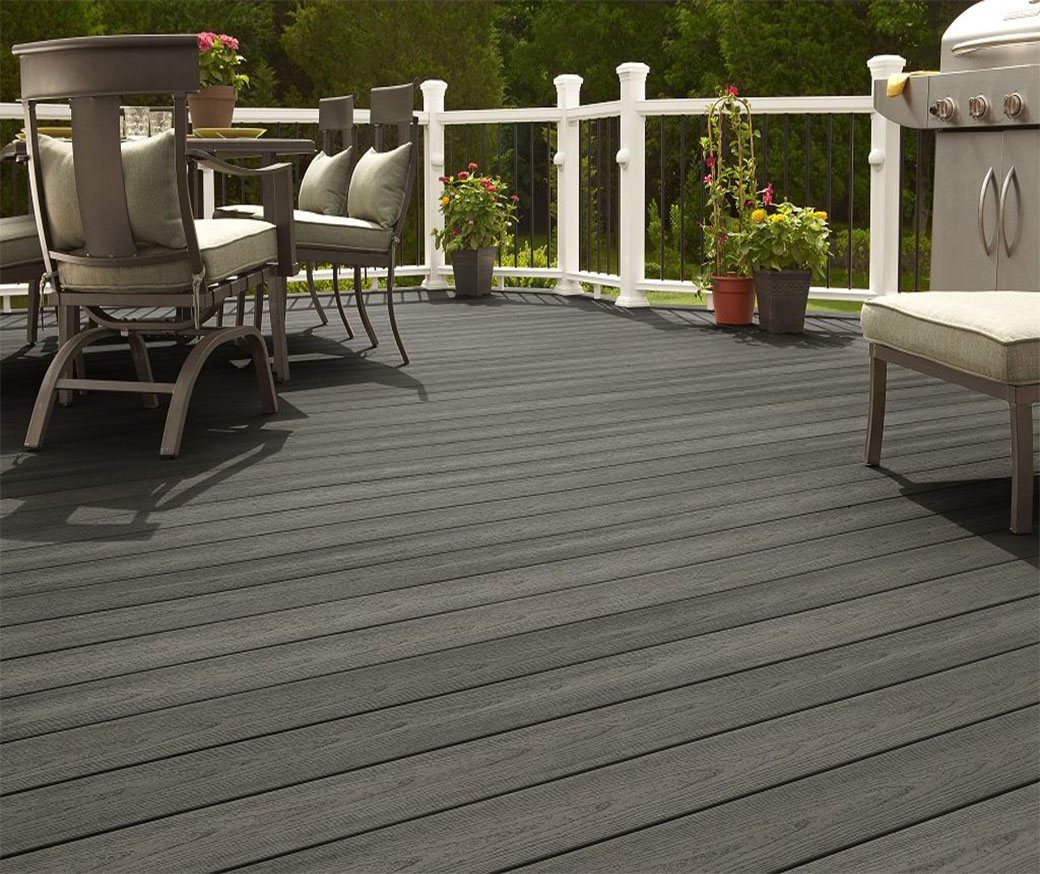 deep embossed wpc decking supplier