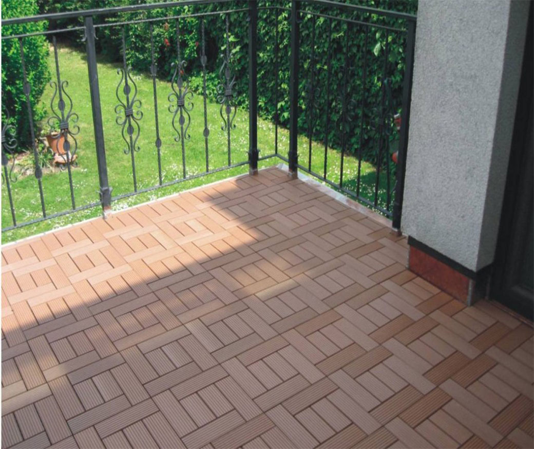 High Quality Interlocking indoor deck tiles