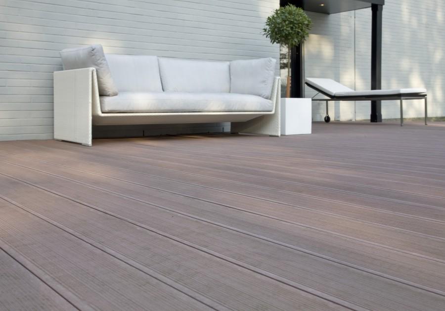 build wood plastic composite flooring material
