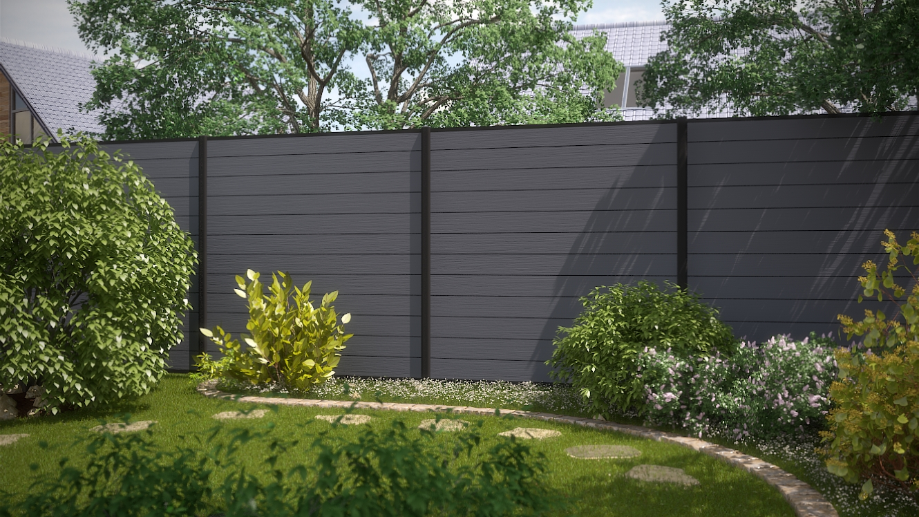 environmental protection of plastic wood fence