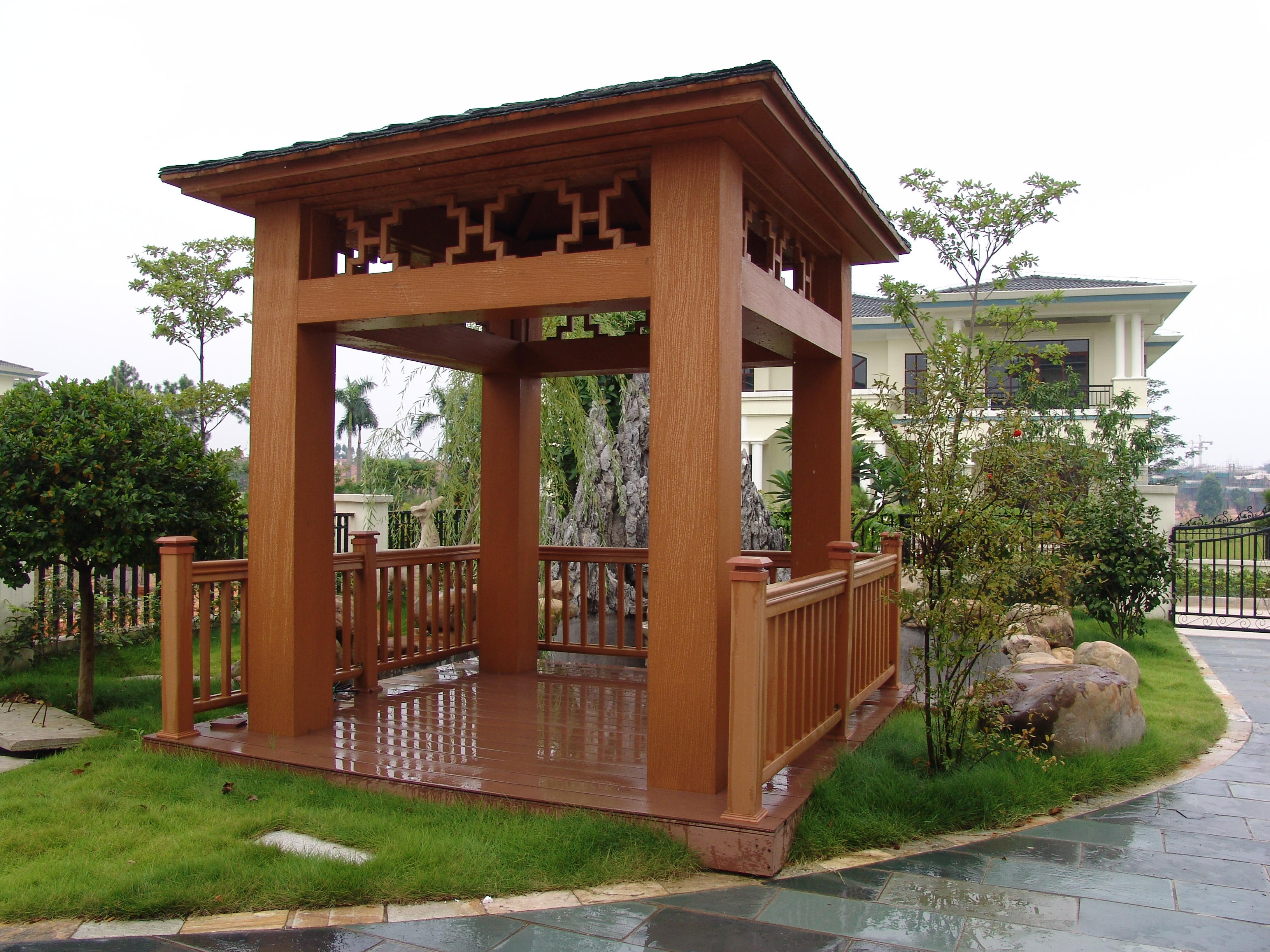 outdoor-popular-wood-plastic-pavilion
