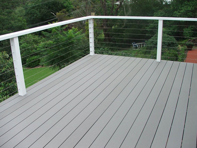 outdoor wood plastic floor
