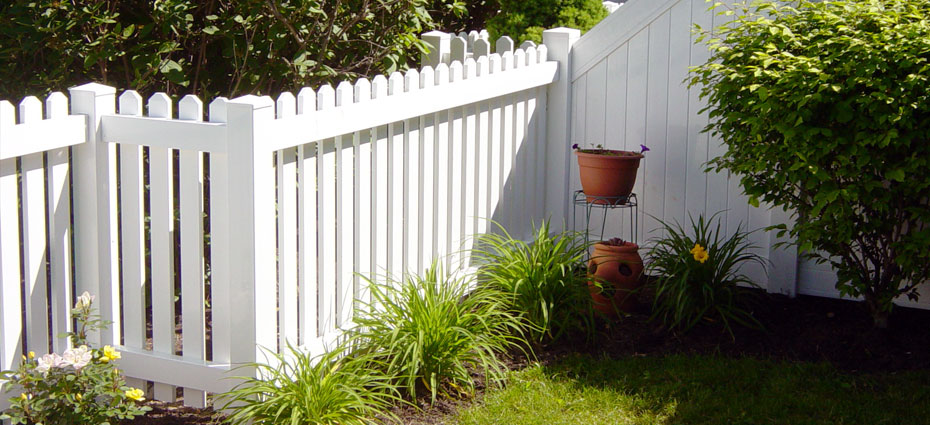 pvc fence replace old fence