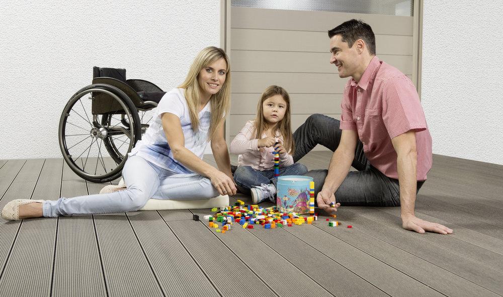 wood plastic flooring advantages