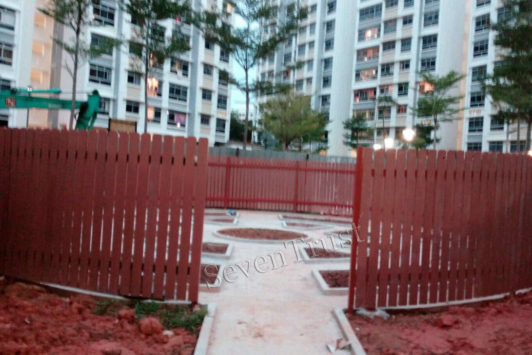 wpc fence in singapore