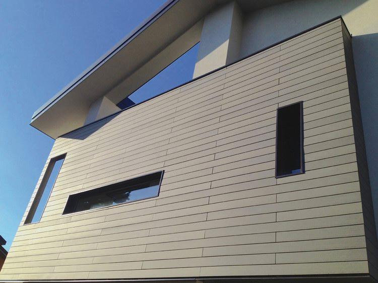 plastic wood exterior wall board