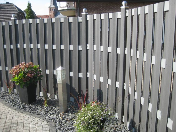 plastic wood fence
