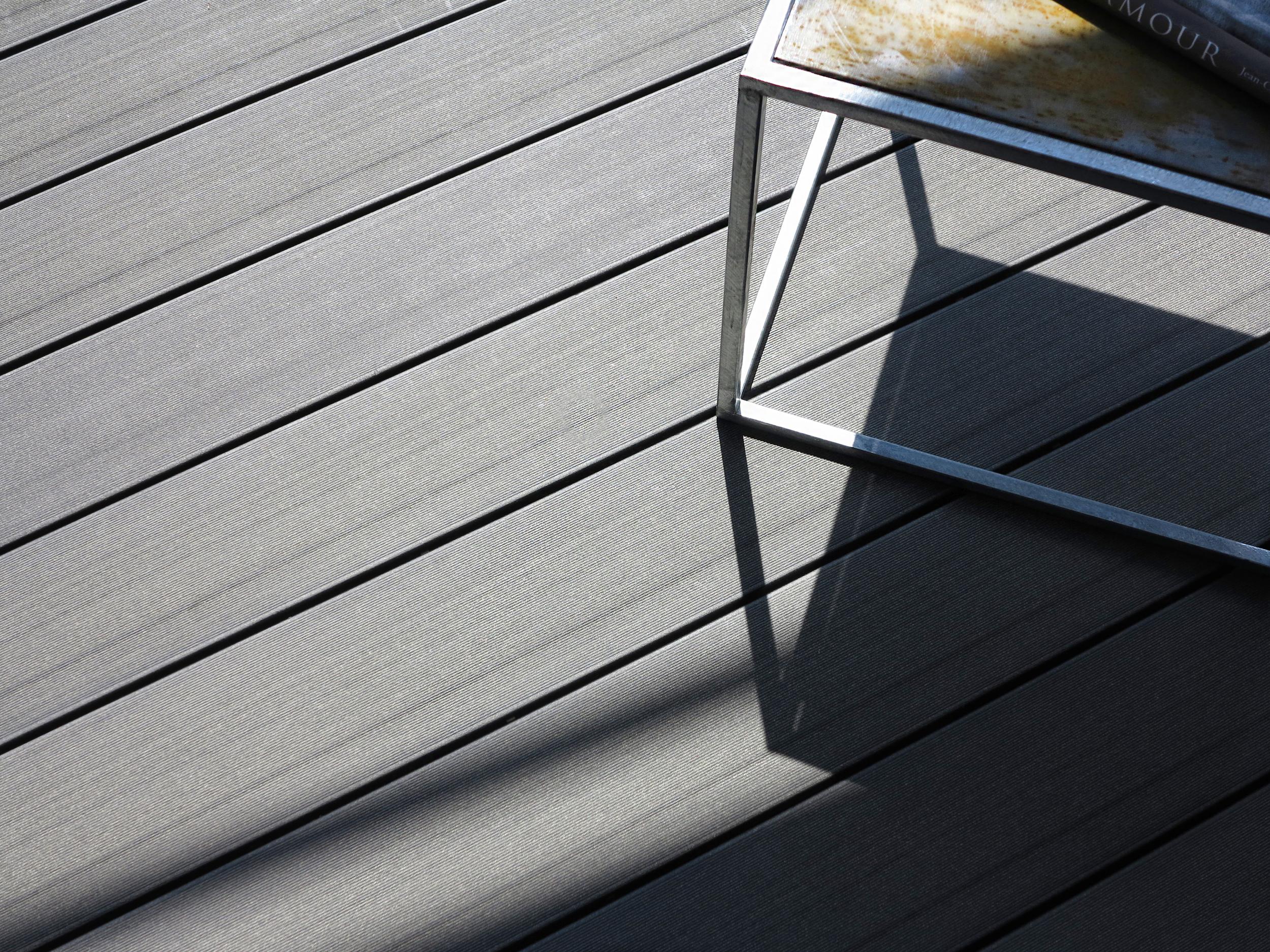 plastic wood floor replaces wood floor