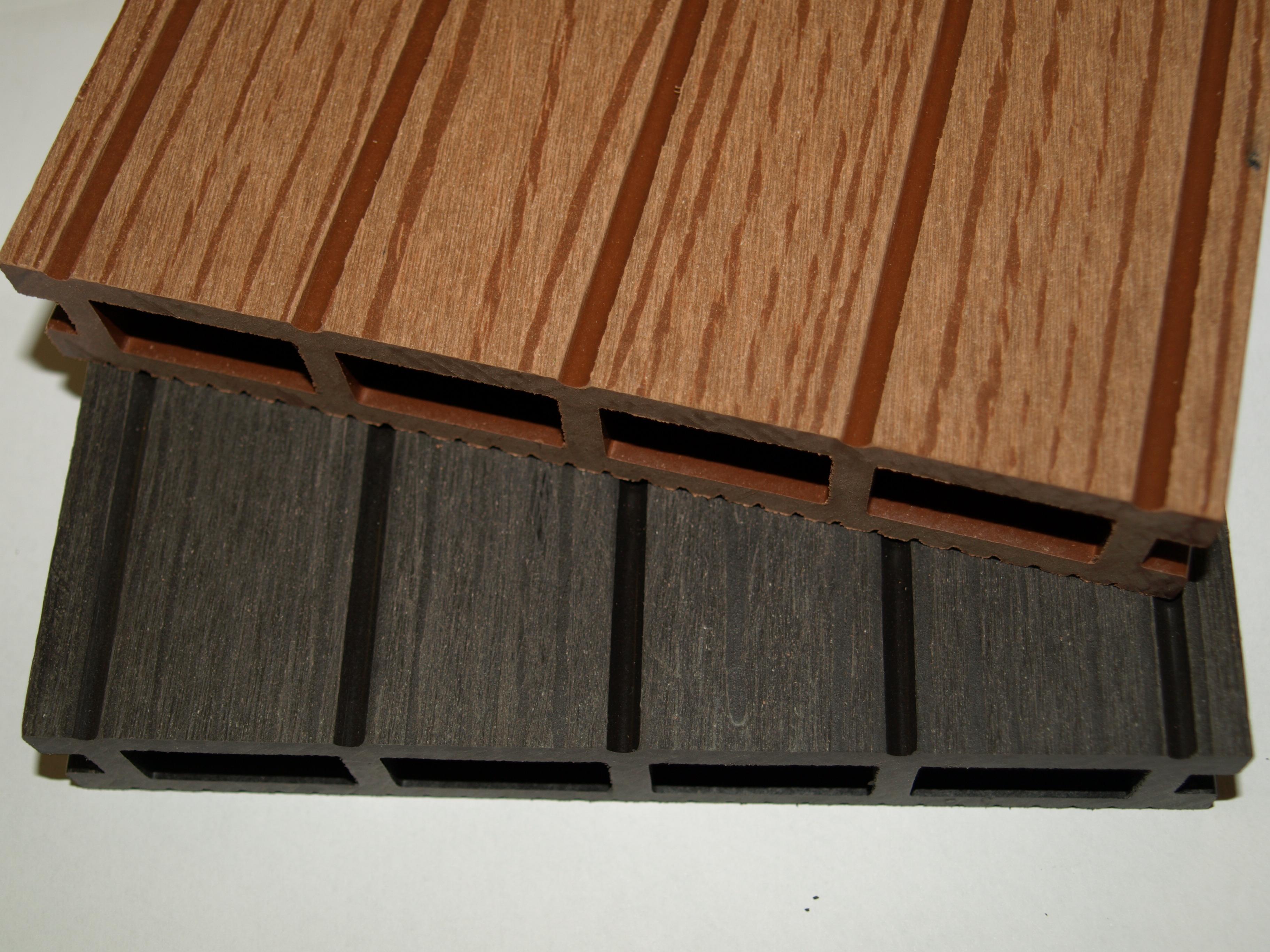 plastic wood material has the advantages of both plant fibers and plastics