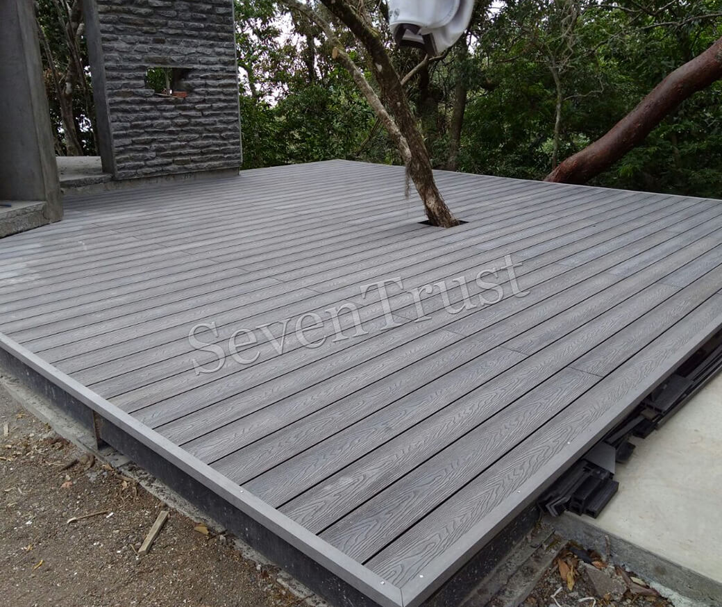 3D Embossed Composite Decking