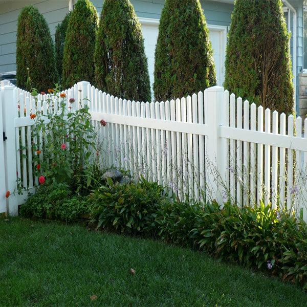 PVC Picket Fence-GAB1
