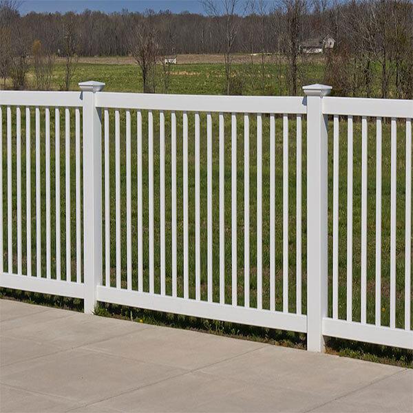 PVC Picket Fence-GBB
