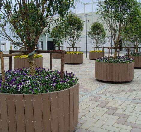 WPC Flower Boxes