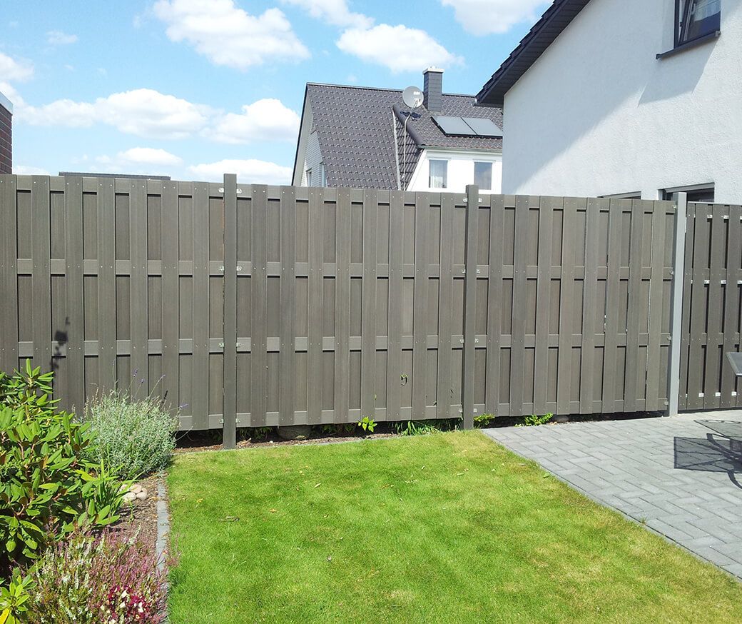 Wpc Fence Buy Wood Plastic Composite Fencing Panel